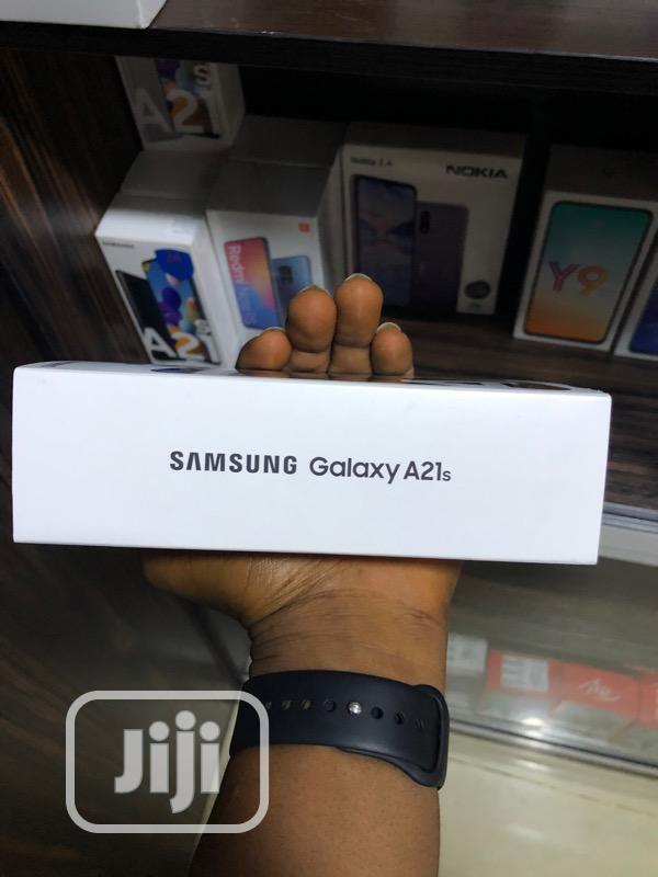 New Samsung Galaxy A21s 64 GB Black   Mobile Phones for sale in Ikeja, Lagos State, Nigeria