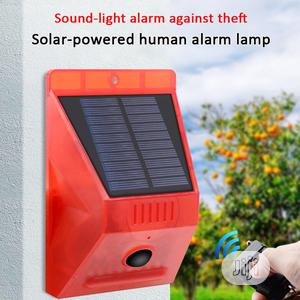 Solar Alarm Sensor Lamp With Remote Control   Solar Energy for sale in Lagos State, Ikeja