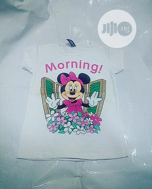 Turkey Mickey Mouse Character White Tops | Children's Clothing for sale in Lagos State, Yaba