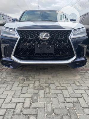 Lexus LX 2018 570 Three-Row Blue | Cars for sale in Lagos State, Lekki
