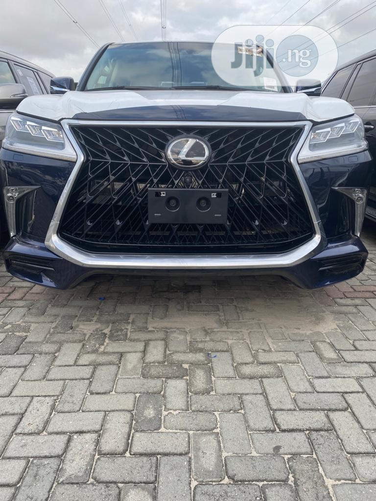 Lexus LX 2018 570 Three-Row Blue