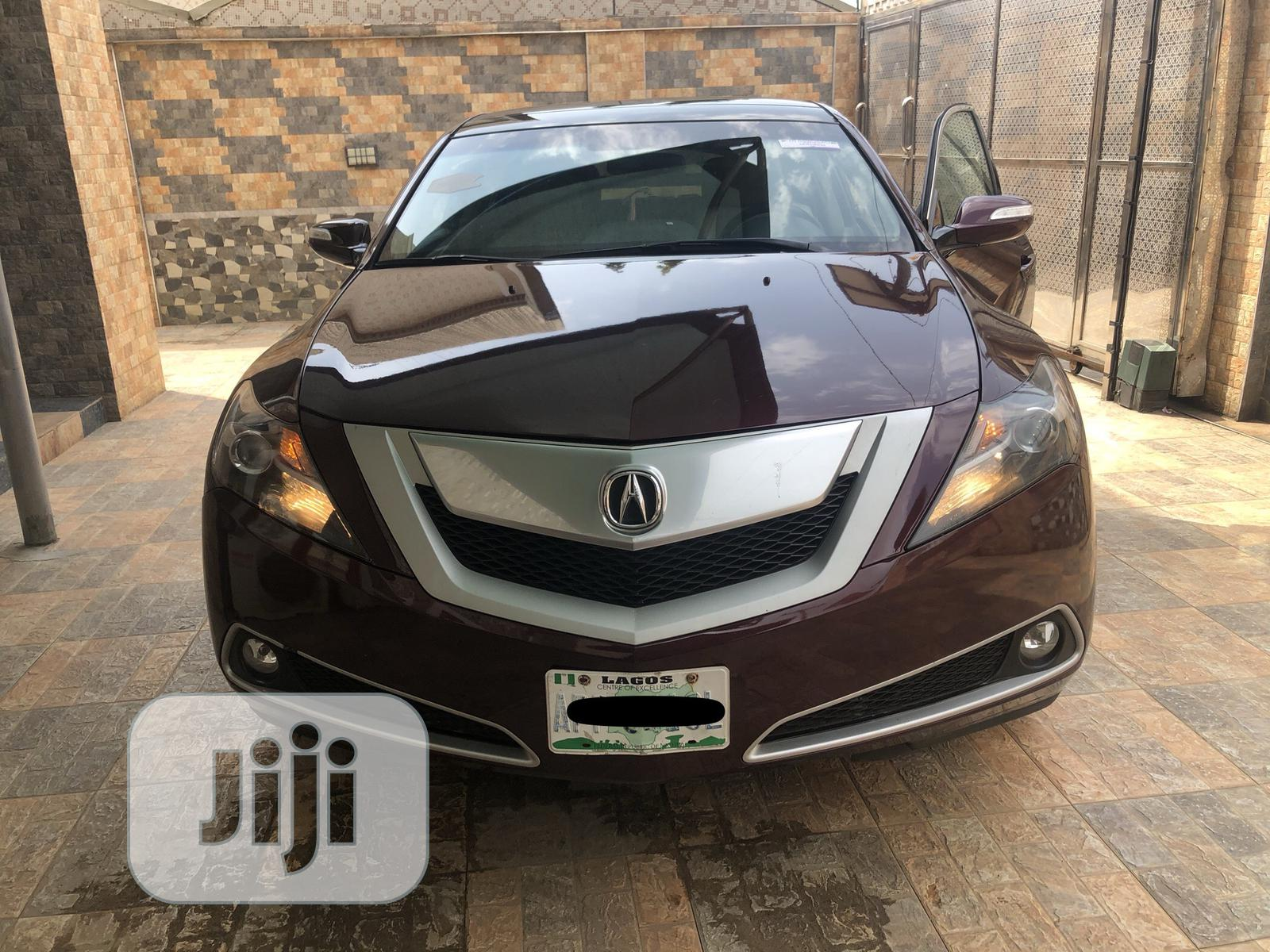 Acura ZDX 2010 Base AWD Red