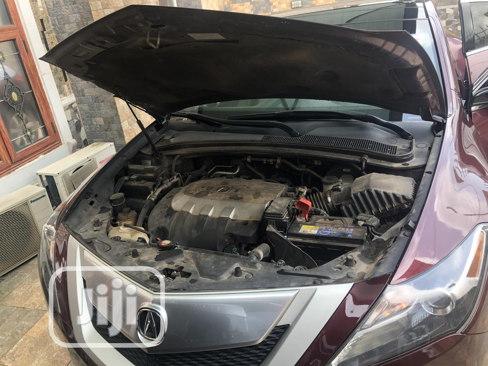 Acura ZDX 2010 Base AWD Red | Cars for sale in Amuwo-Odofin, Lagos State, Nigeria