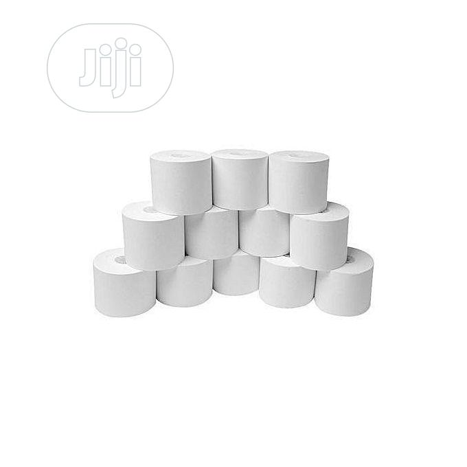 Wholesale POS Thermal Paper 50 Rolls - 80 X 80MM - 1 Carton