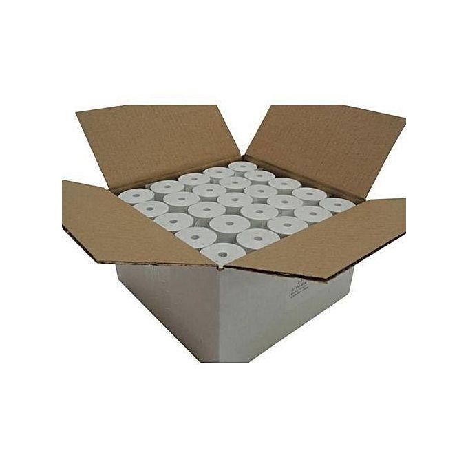 Wholesale POS Thermal Paper 50 Rolls - 80 X 80MM - 1 Carton   Printing Equipment for sale in Kosofe, Lagos State, Nigeria