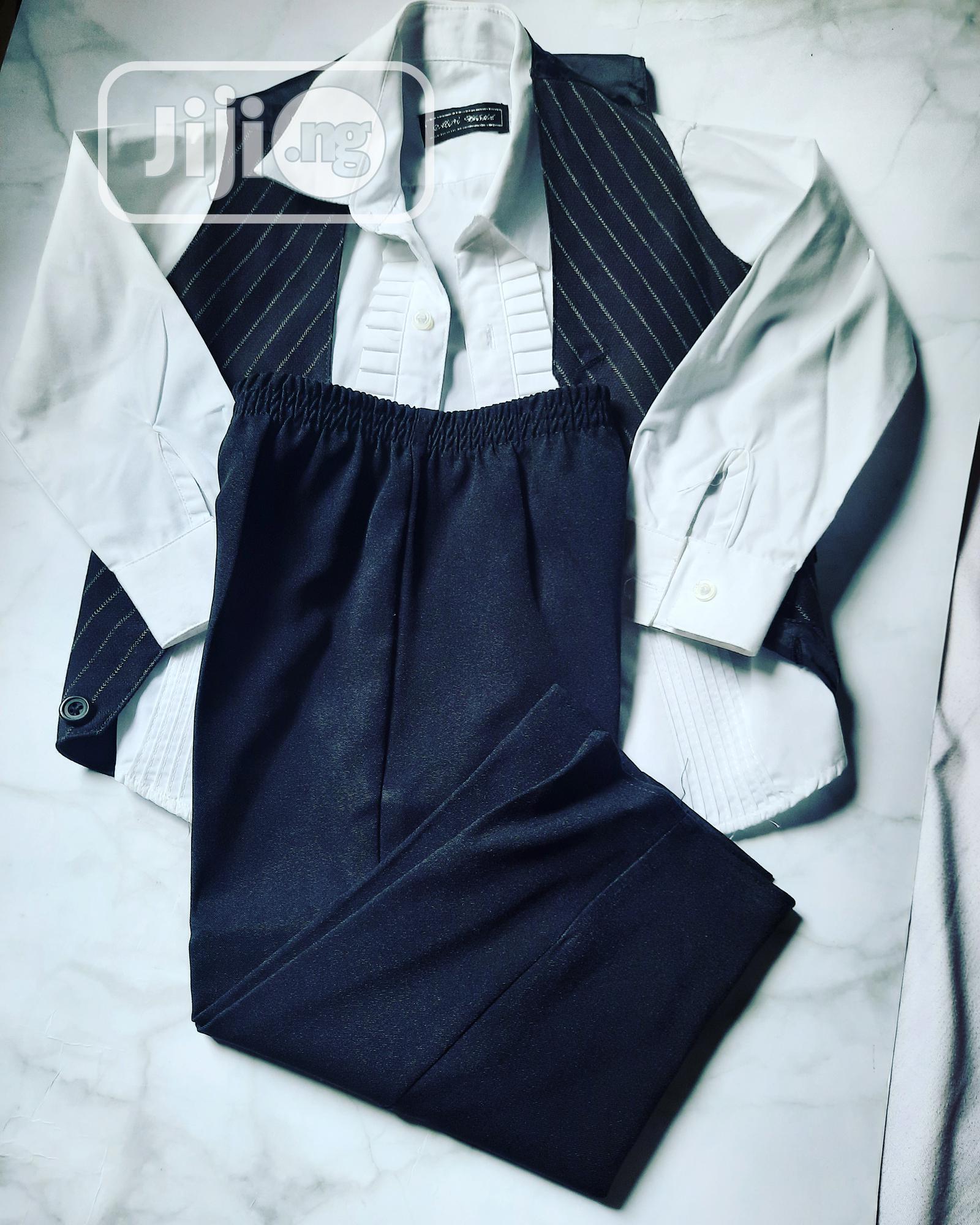 Archive: 3 Pieces Shirt,Waist Coat and Trouser