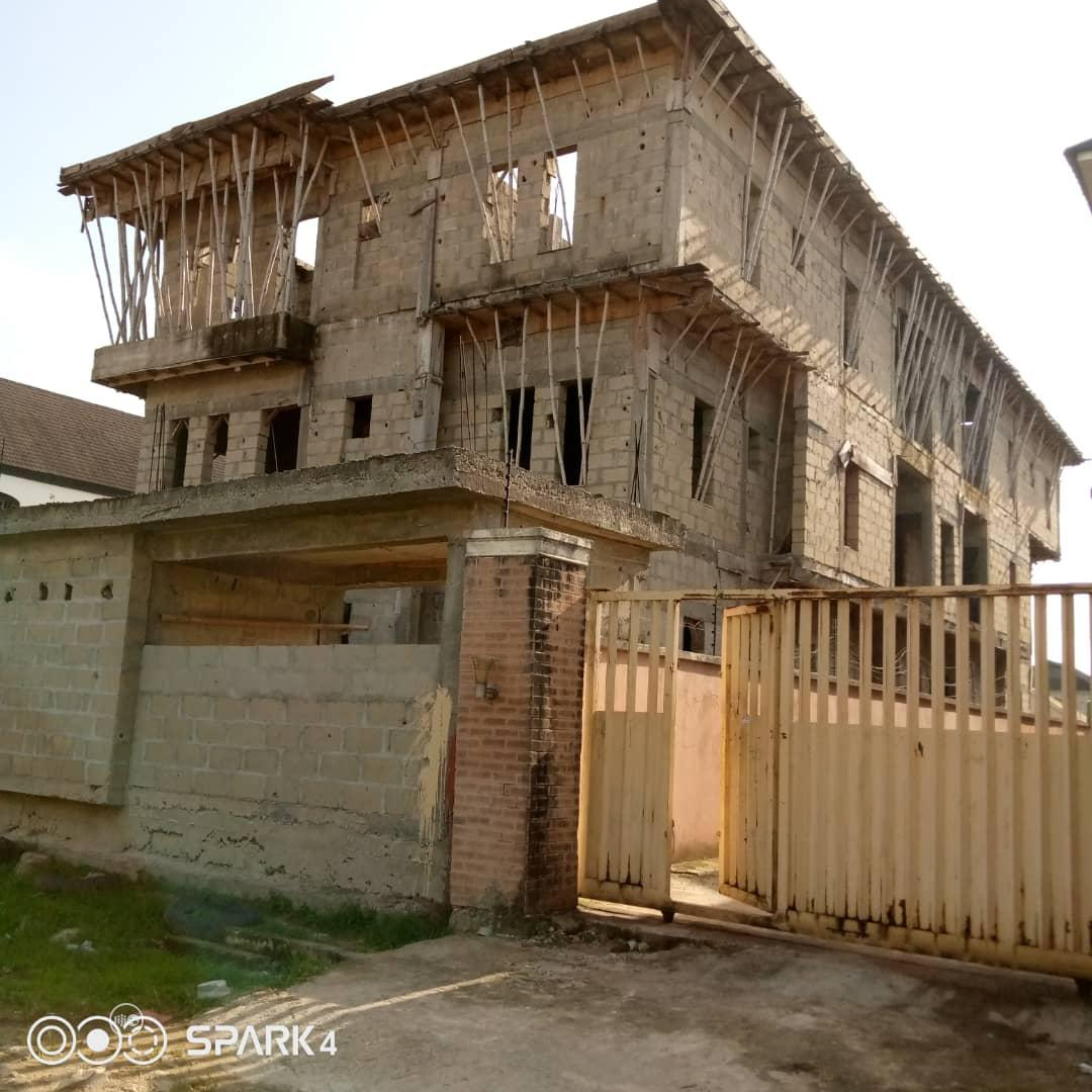 An Uncompleted Building for Sale at Olokonla