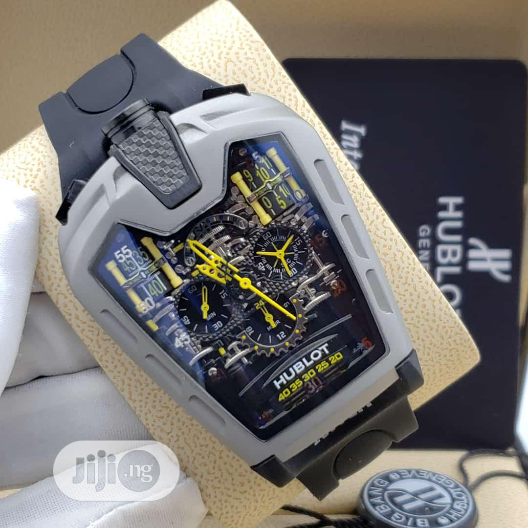 Hublot (Ferrari) Rubber Strap Watch