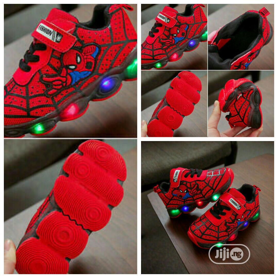 Archive: Spiderman LED Sneakers