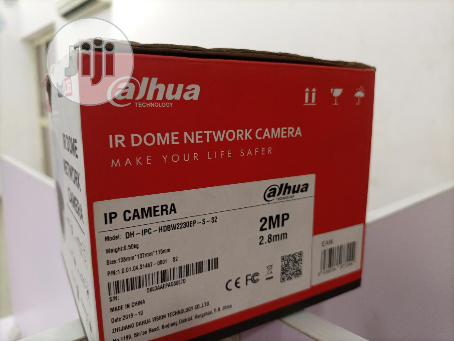 2 MP IP Camera Dahua DH-IPC-HDBW2230EP-S-S2 (2.8 Mm) | Security & Surveillance for sale in Ikeja, Lagos State, Nigeria