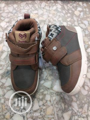 Brown High Top Sneakers | Children's Shoes for sale in Lagos State, Lagos Island (Eko)