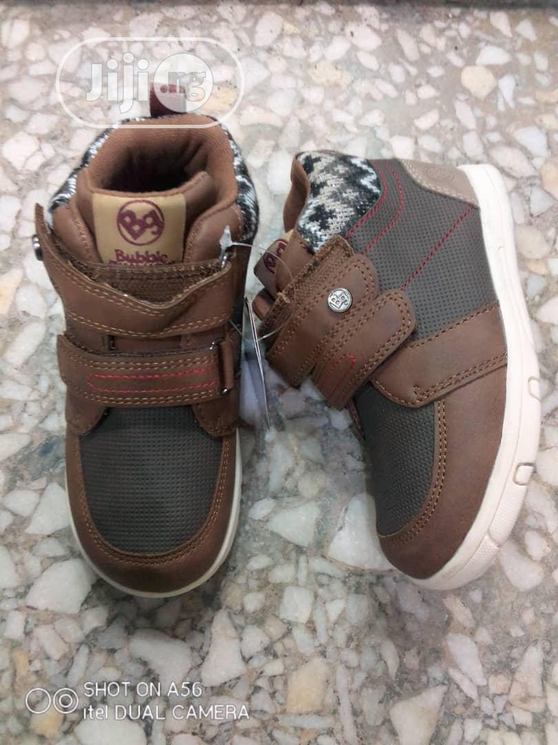 Archive: Brown High Top Sneakers