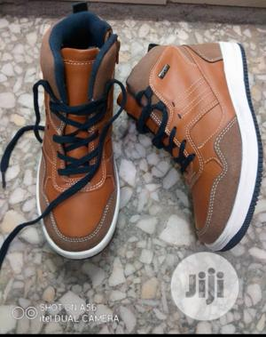 Brown Ankle High Top Sneakers | Children's Shoes for sale in Lagos State, Lagos Island (Eko)