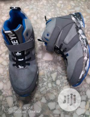 Ash and Blue High Top Sneakers   Children's Shoes for sale in Lagos State, Lagos Island (Eko)
