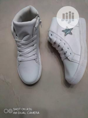 White Ankle Sneakers | Children's Shoes for sale in Lagos State, Lagos Island (Eko)