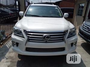 Lexus LX 2015 570 Base White | Cars for sale in Lagos State, Surulere