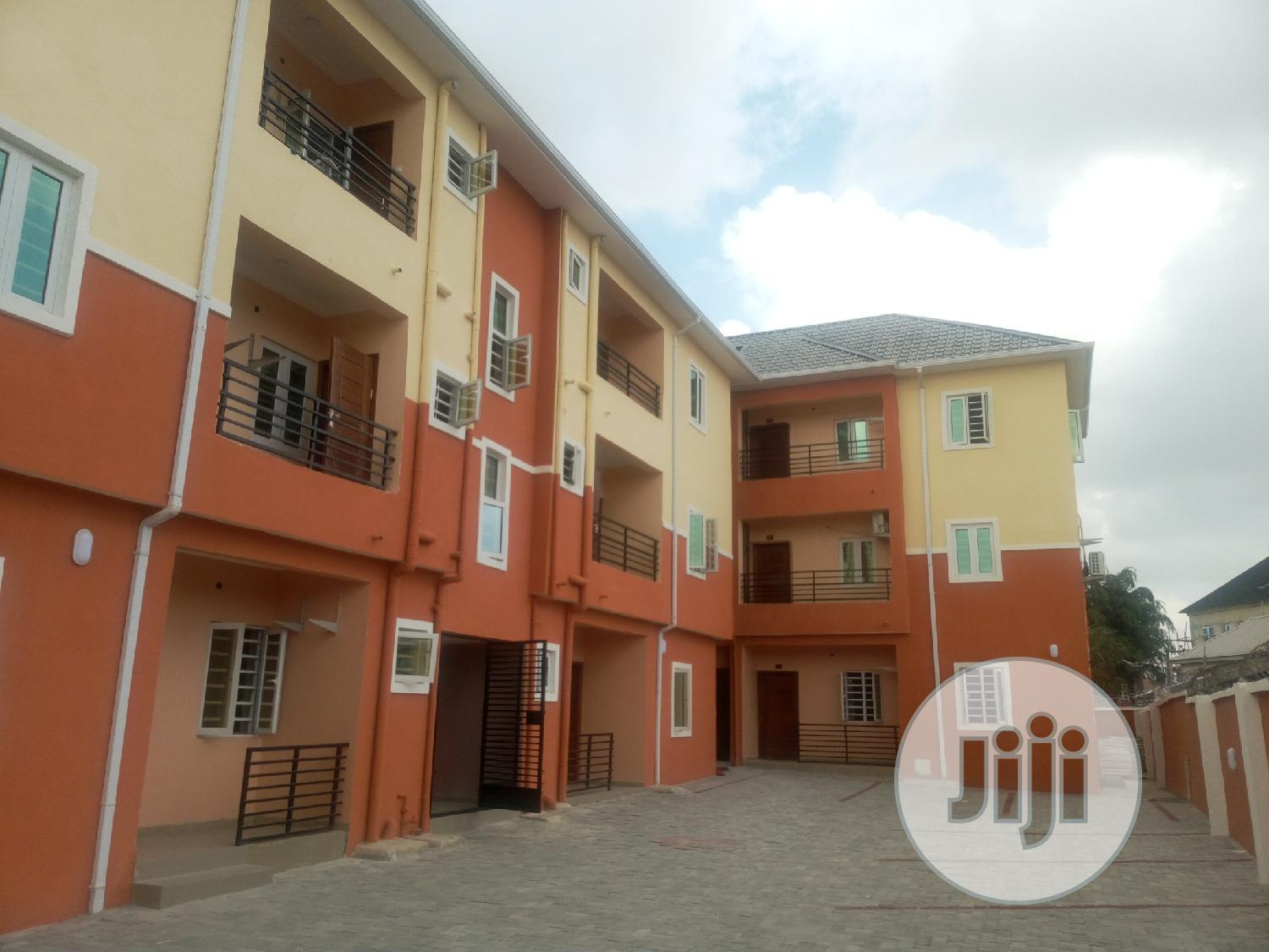 A Lovely 2bedroom Flat In A Secured Estate, Interlocked Road