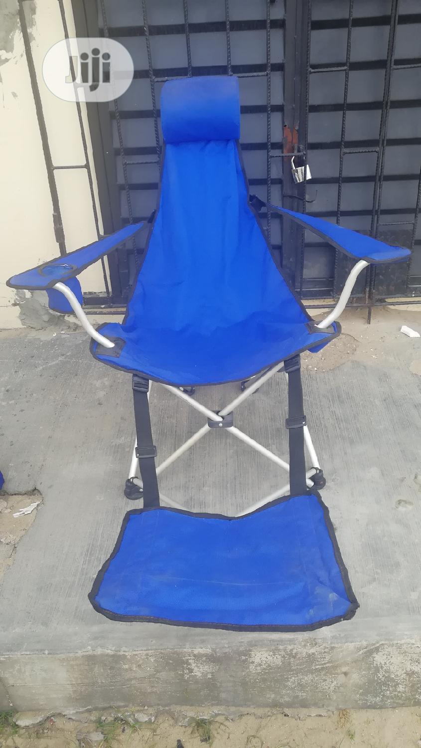 Foldable Beach Chair | Camping Gear for sale in Ajah, Lagos State, Nigeria