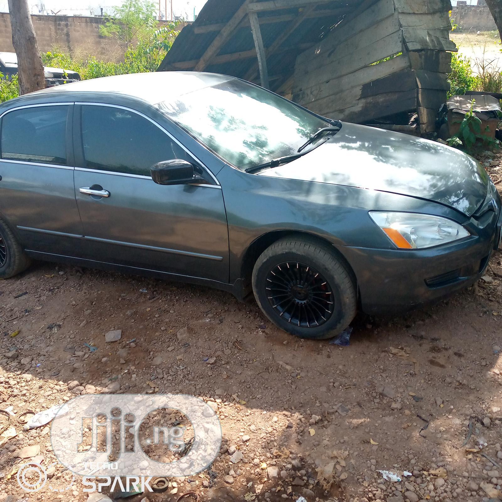 Honda Accord 2005 Automatic Gray | Cars for sale in Ado Ekiti, Ekiti State, Nigeria
