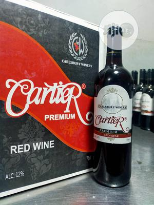 75cl Cartier Premium Red Wine | Meals & Drinks for sale in Lagos State, Agege