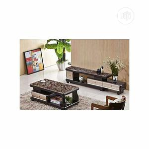 Unique Center Table and TV Shelve With Drawers | Furniture for sale in Lagos State, Ojo