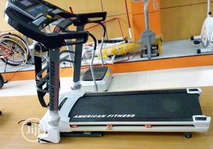 Heavy Duty 2.5hp Treadmill With Massager and Mp3   Sports Equipment for sale in Lagos State, Lekki
