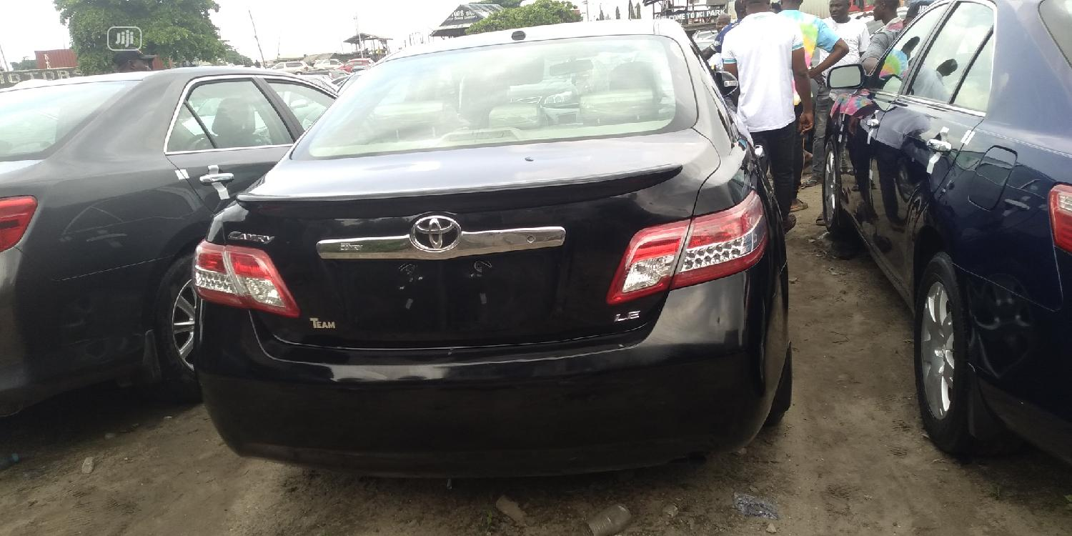 Toyota Camry 2010 Black   Cars for sale in Apapa, Lagos State, Nigeria