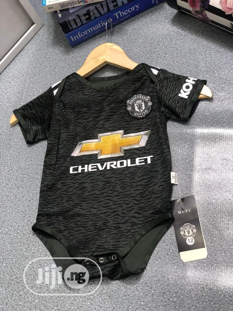 Archive: Original Manchester United FC Baby Pindown Jersey
