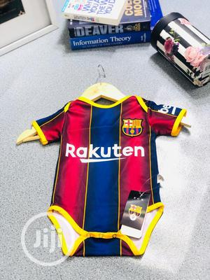 Original Barcelona Baby Pindown Jersey | Children's Clothing for sale in Ondo State, Akure