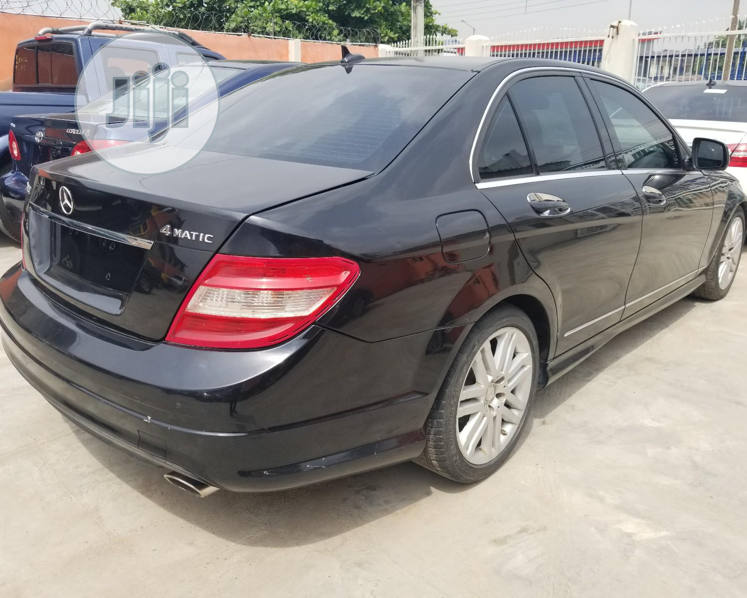 Mercedes-Benz C300 2010 Black | Cars for sale in Ikeja, Lagos State, Nigeria