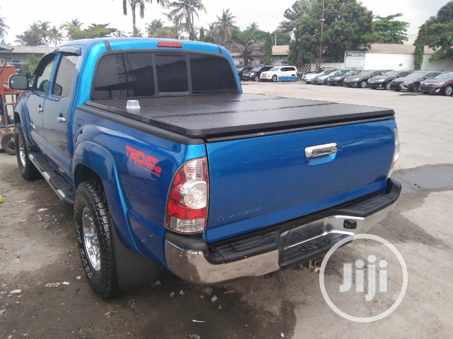 Toyota Tacoma 2008 4x4 Access Cab Blue | Cars for sale in Apapa, Lagos State, Nigeria