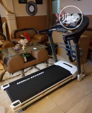 Original 2.5hp Treadmill With Massager and Mp3 Heavy Duty   Sports Equipment for sale in Lagos State, Ipaja