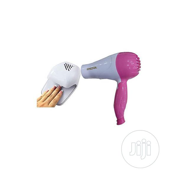 Nail Dryer and Hair Dryer Bundle