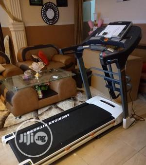 2.5hp Treadmill With Massager and Mp3 Heavy Duty   Sports Equipment for sale in Lagos State, Ikorodu