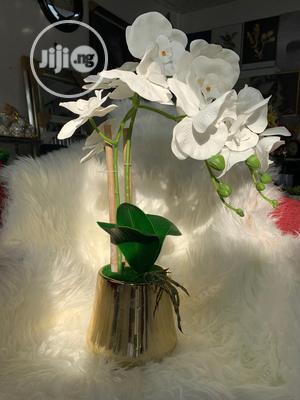 Orchid Flower And Vase Figurine | Home Accessories for sale in Lagos State, Ajah