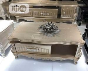 Golden Centre \ TV Shelve With Drawers | Furniture for sale in Lagos State, Ojo