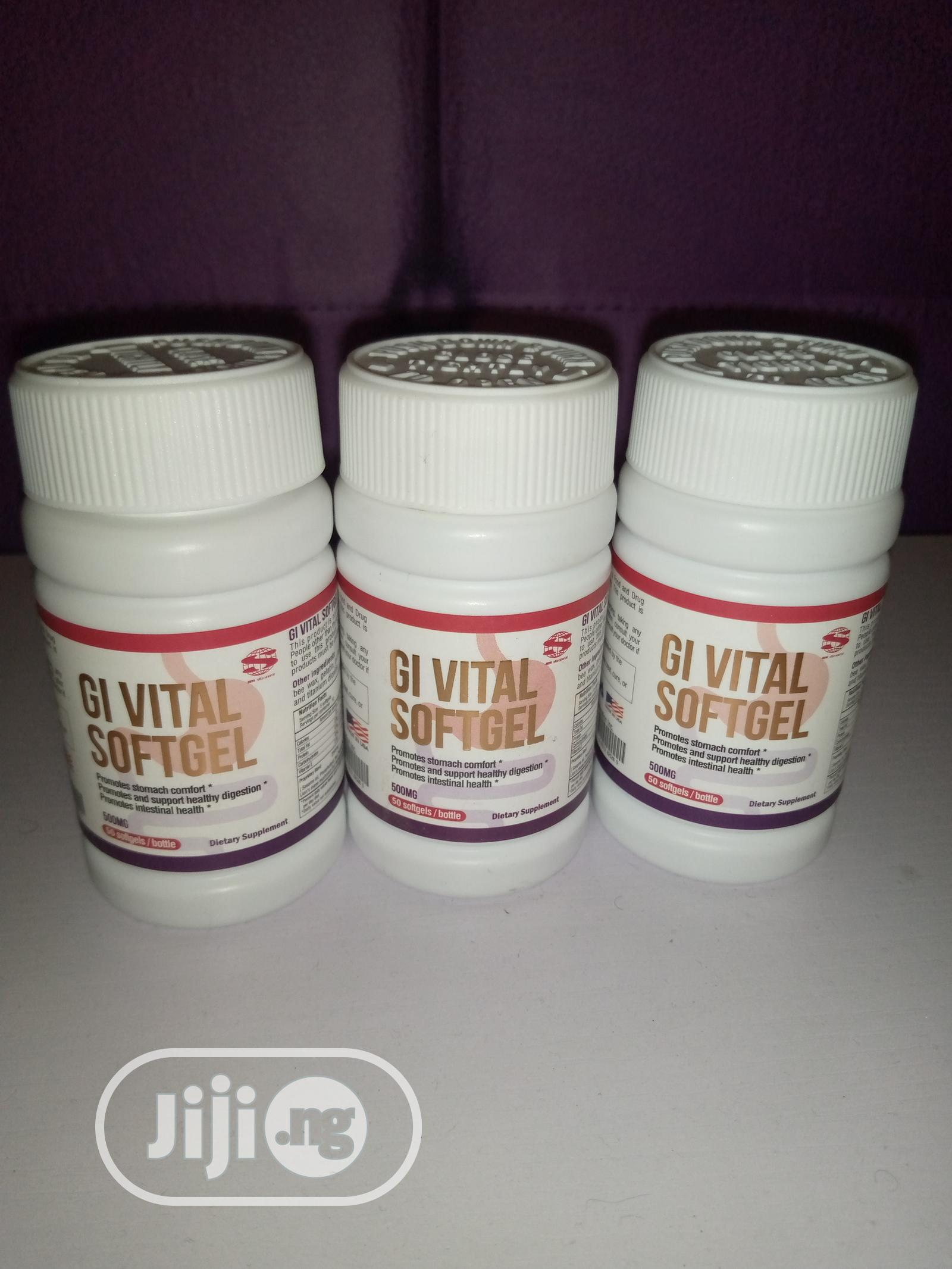 Archive: Permanently Cure Ulcer & Burns With Gi Vital Softgel