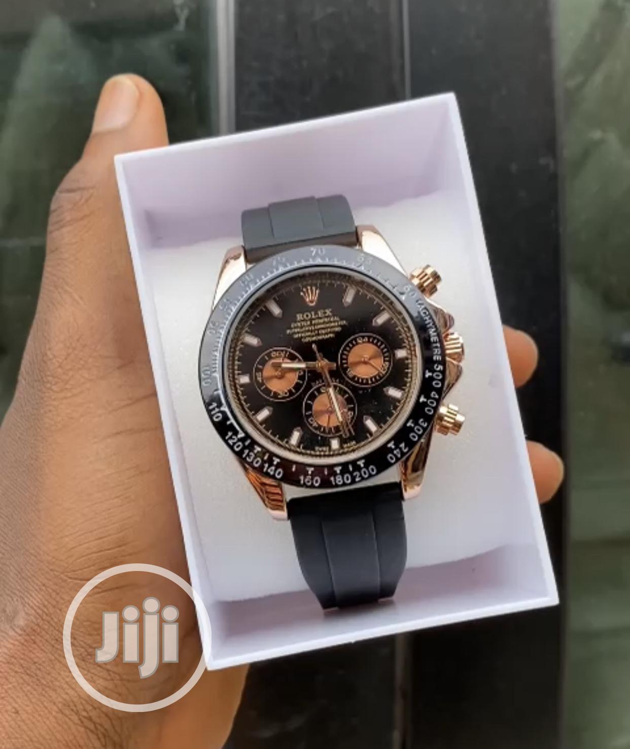 Mechanical Working Rolex Wristwatch