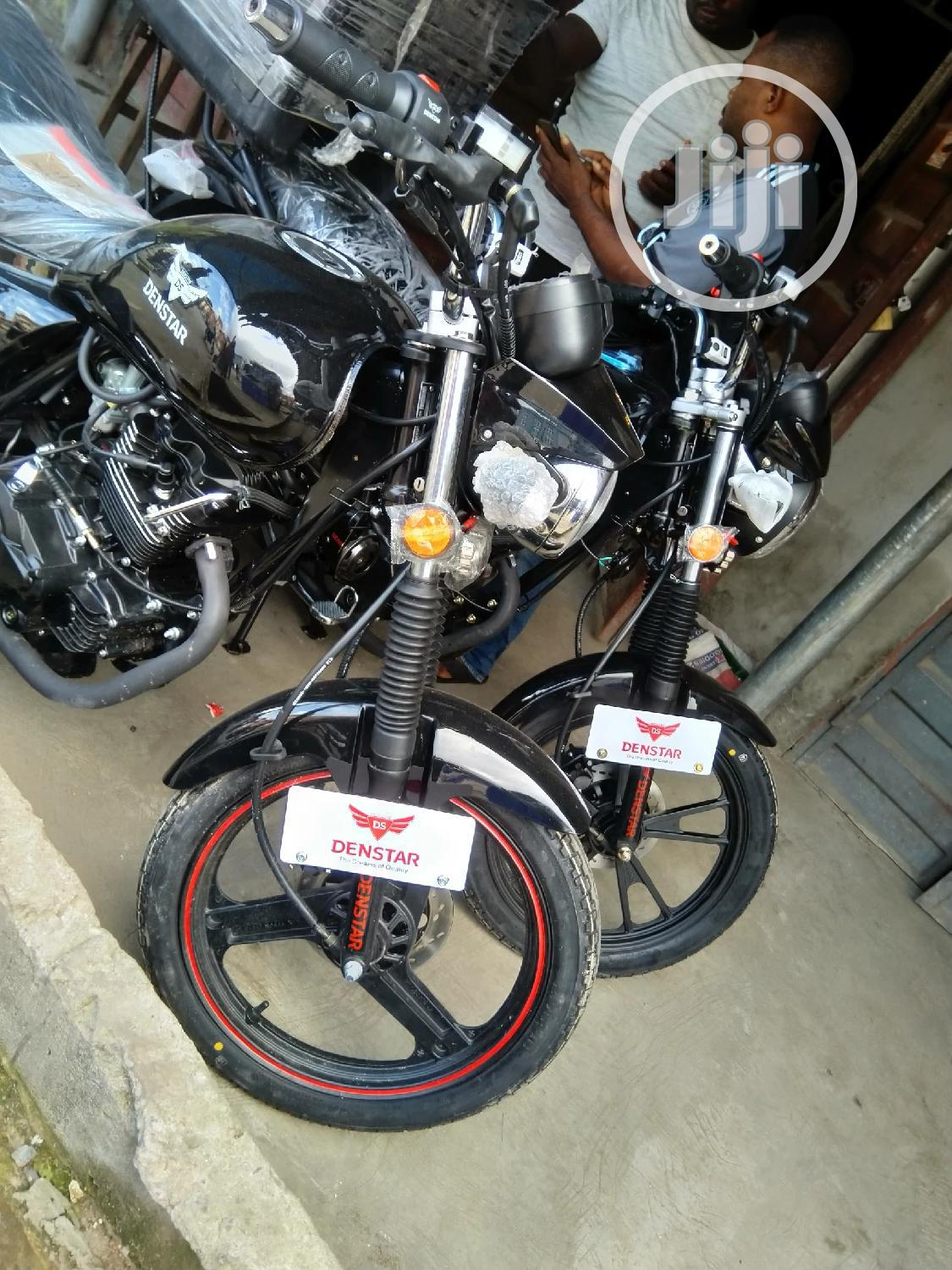 New Denstar Taurus 2020 Black   Motorcycles & Scooters for sale in Yaba, Lagos State, Nigeria