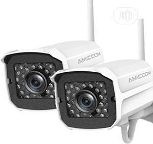 Outdoor Security Camera, 1080P Wifi Camera Surveillance | Security & Surveillance for sale in Lagos State, Ikeja