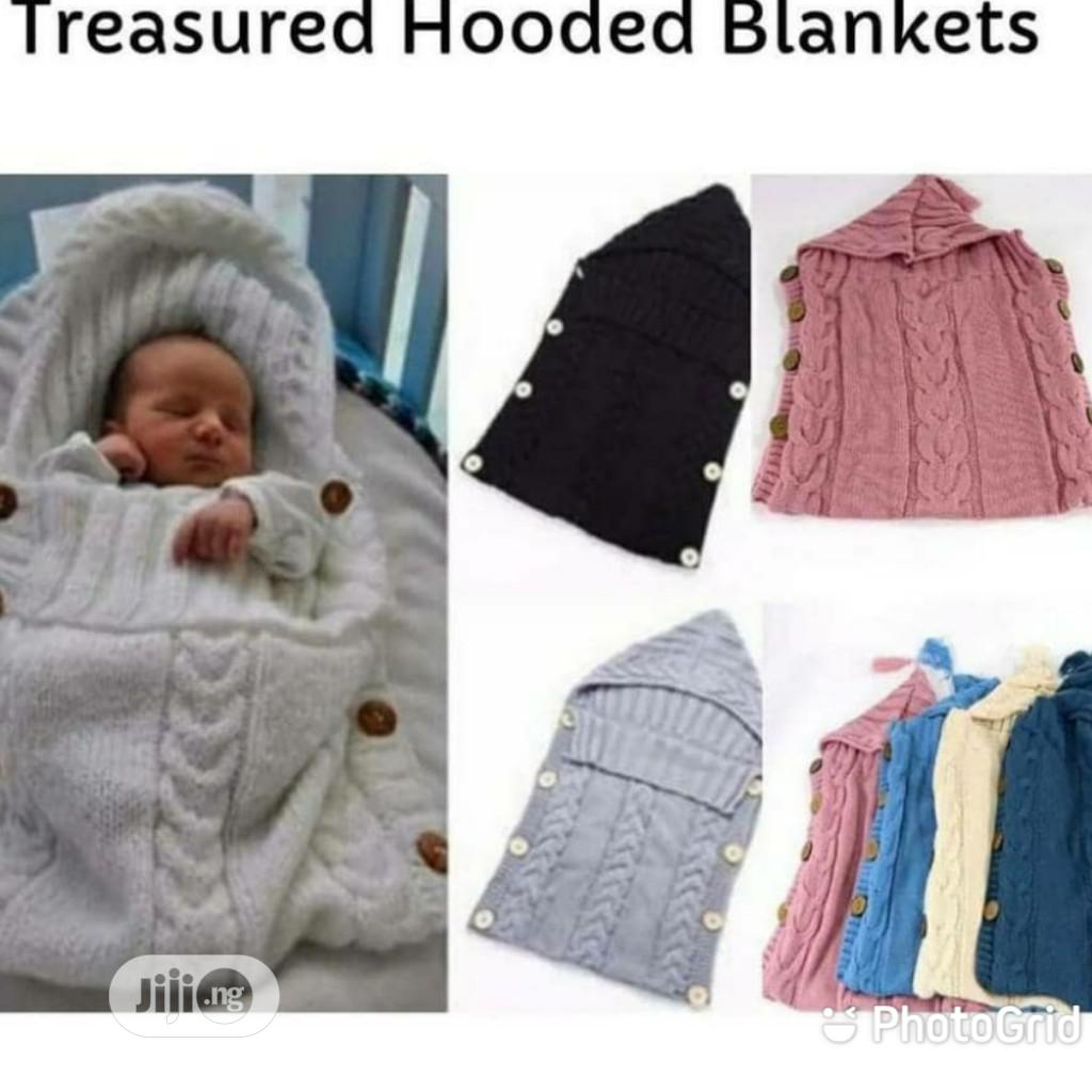 Archive: Baby Hooded Blankets for Sale at Lagos