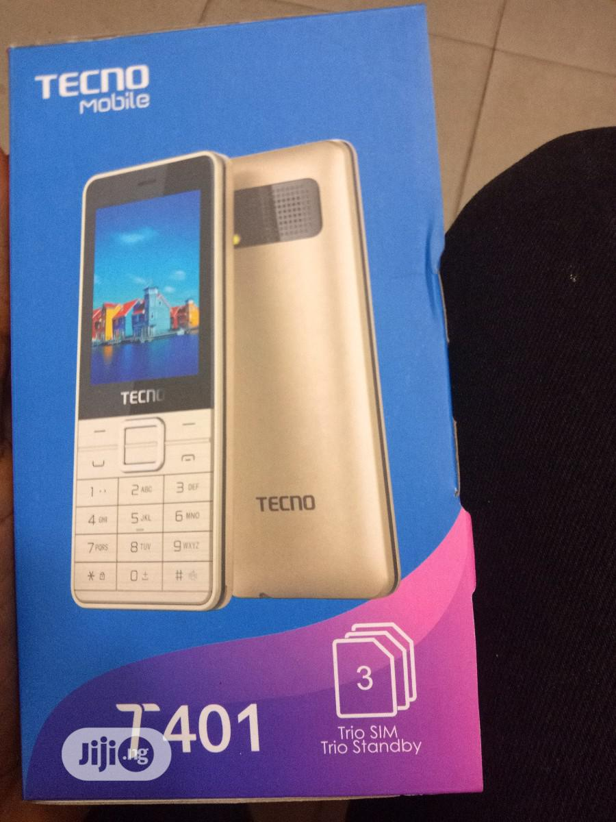 New Tecno T401 Gold