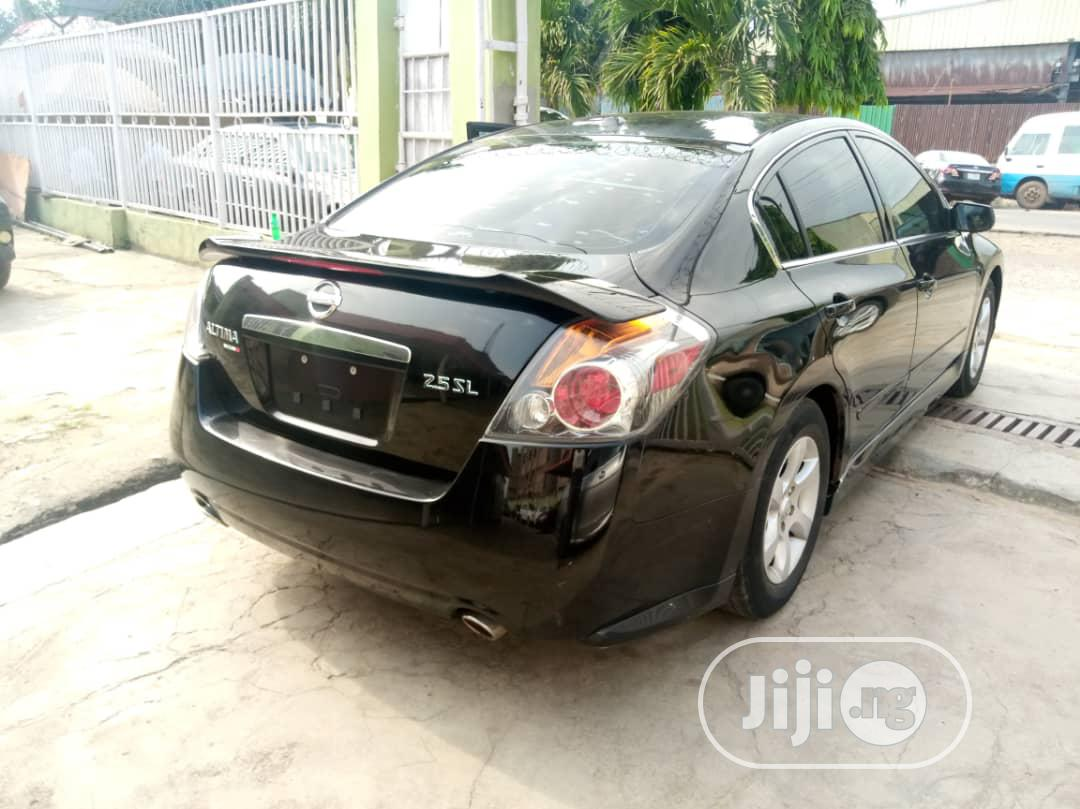 Nissan Altima 2009 2.5 Black | Cars for sale in Ikeja, Lagos State, Nigeria