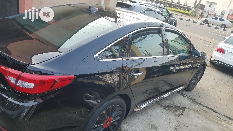 Hyundai Sonata 2015 Black   Cars for sale in Ikeja, Lagos State, Nigeria
