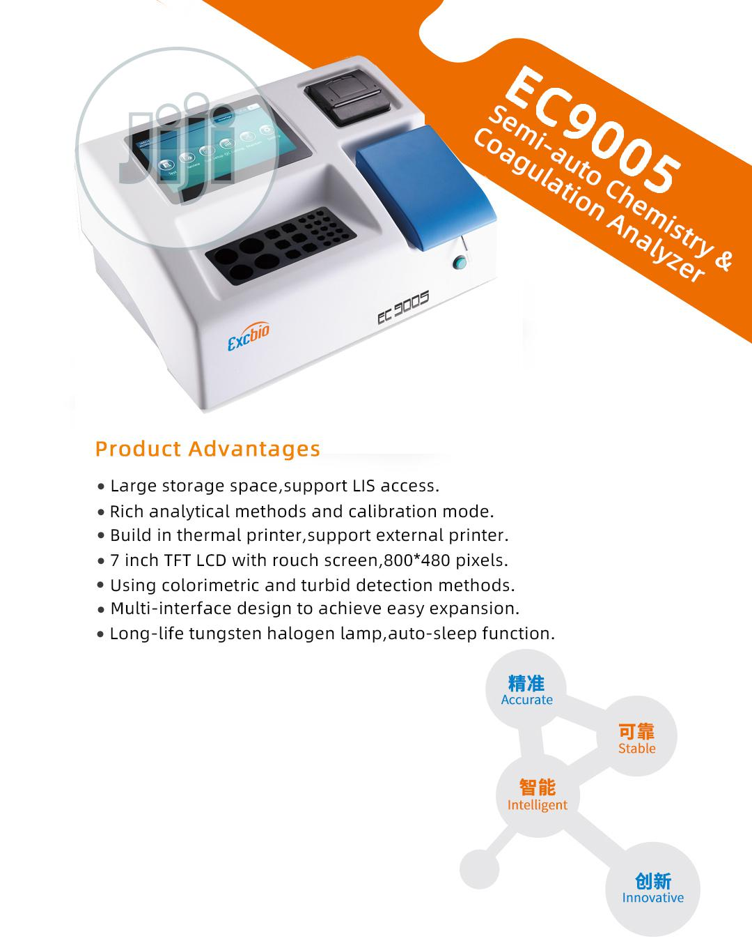 Semi Auto Chemistry & Coagulation Analyzer Machine | Medical Equipment for sale in Sokoto North, Sokoto State, Nigeria