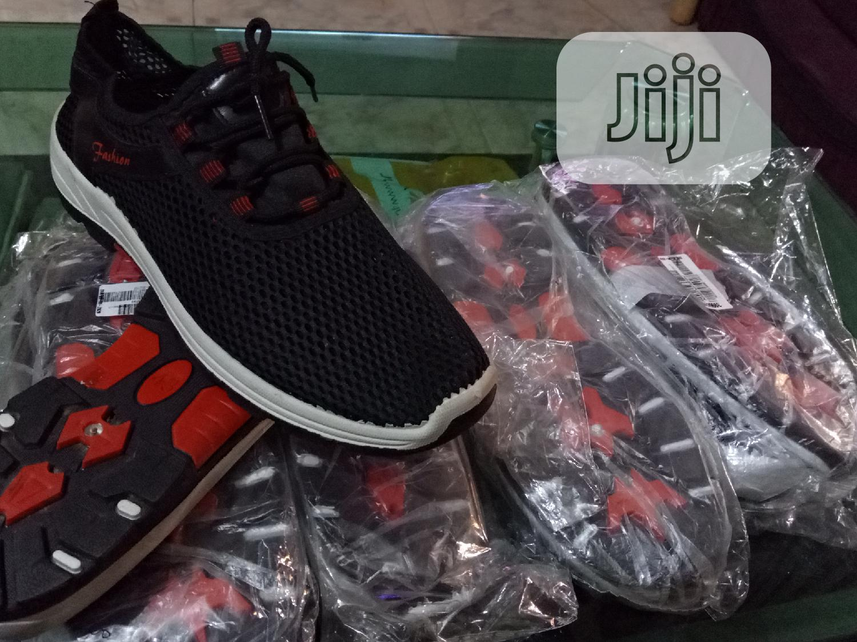 Black Sneakers | Shoes for sale in Ikorodu, Lagos State, Nigeria