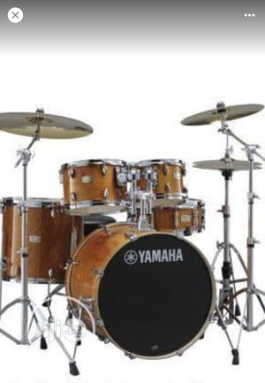 Yamaha 5 Sets of Original Drum With Big Pedals | Musical Instruments & Gear for sale in Lagos State, Ojo