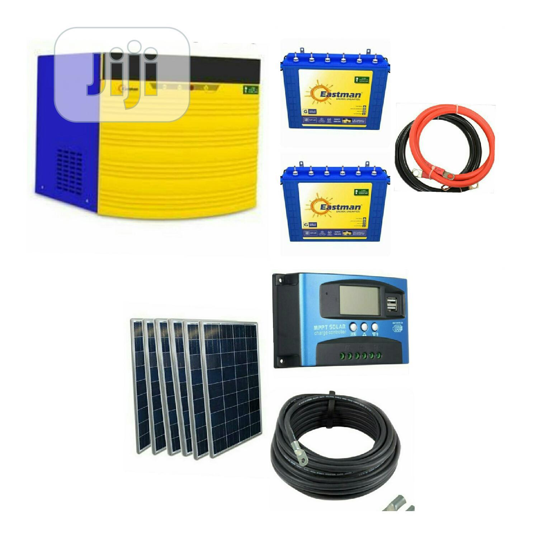 2.2kva 24v Solar Eastman Package.