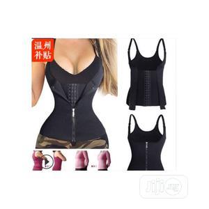 Neoprene Adjustable Zipper Hook Body Shaper Waist Cincher | Clothing Accessories for sale in Lagos State, Ikeja
