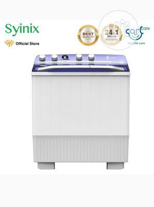 Syinix 12kg Semi-Automatic Twin Tub Washing Machine SY | Home Appliances for sale in Abuja (FCT) State, Maitama